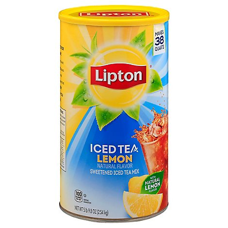 Lipton Lemon Iced Tea 38 Quarts - 89.8 OZ