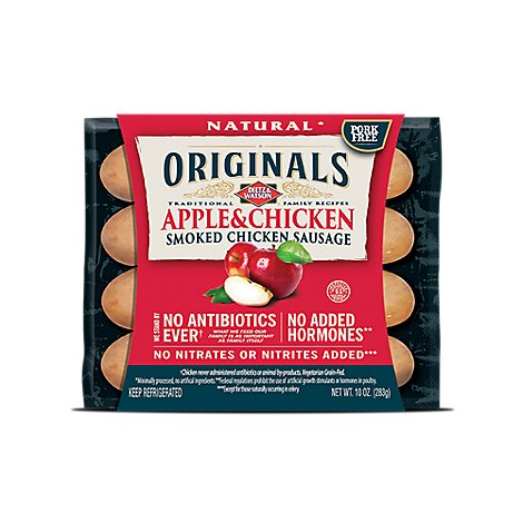 Dietz & Watson Apple Chicken Sausage - 10 OZ