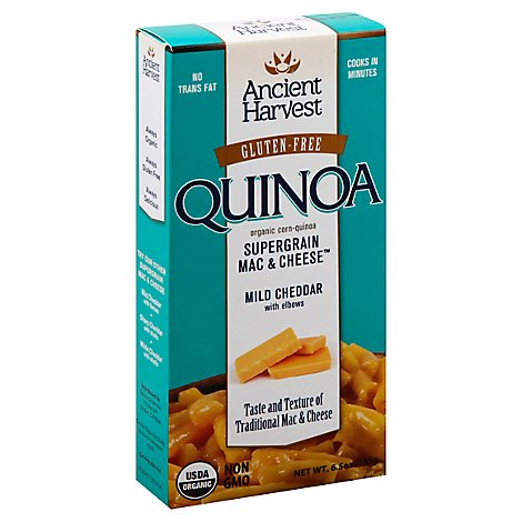 Quinoa Ancient Harvest Gluten Free Mac & Cheese - 6.5 OZ