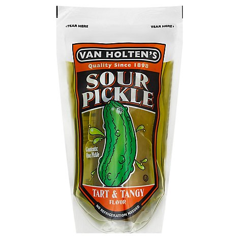 Van Holten Large Sour Pickle - EA