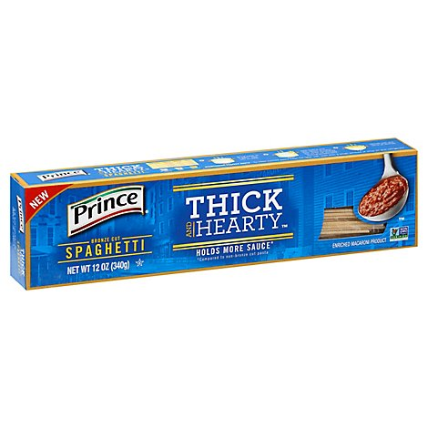 Prince Thick And Hearty Spaghetti - 12 OZ