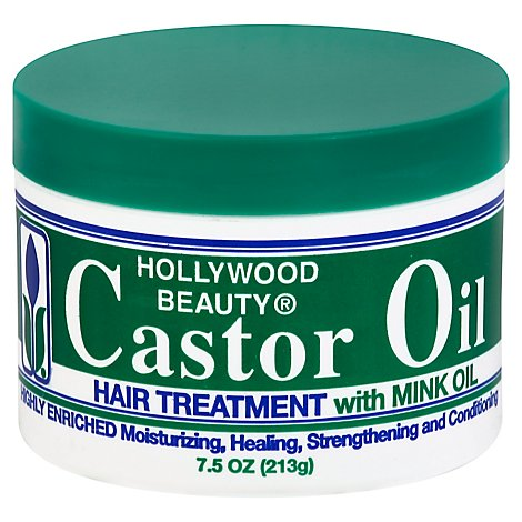 Hollywood Castor Oil Creme - 7.5 OZ