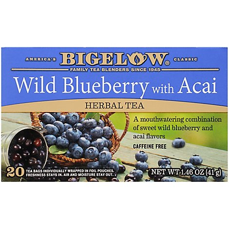 Bigelow Tea Herb Wld Blbry Acai - 20 CT
