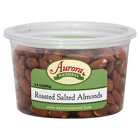 Aurora Almonds Salted - 9.5 OZ