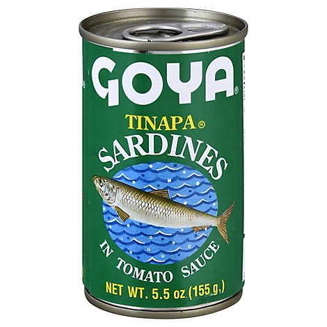 Goya Sardine Fish Whole In Tomato Sauce - 5.5 OZ
