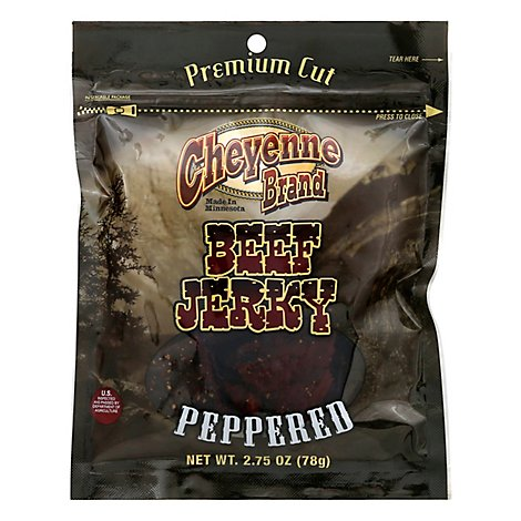 Cheyenne Peppered Beef Jerky - 2.75 OZ