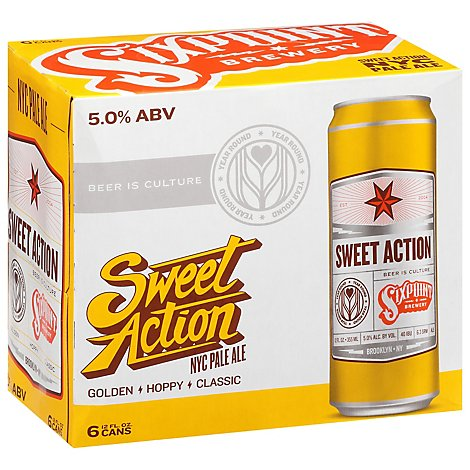 Sixpoint Sweet Action Ipa Cans - 6-12 FZ