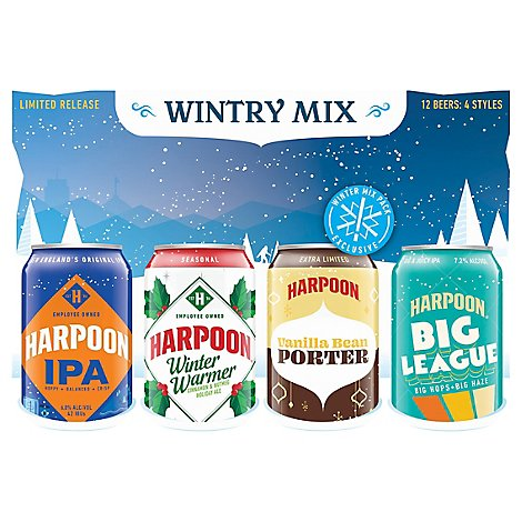 Harpoon Mix In Cans - 12-12 FZ