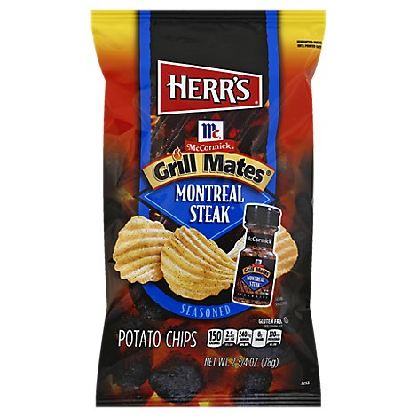 Herrs Grill Mates Montreal - 2.75 OZ