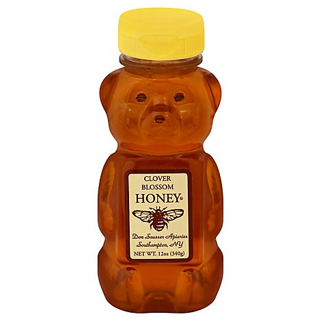 Don Sausser Regular Honey Squeeze Bear - 16 OZ