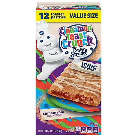 Pillsbury Pastries Cinnamon - 23.4 OZ