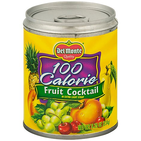 Delmonte 100 Calorie Mixed Fruit - 8.25 OZ