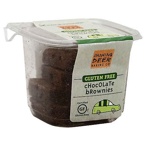 Dancing Deer Gf Chocolate Chunk Brownies - 9 OZ