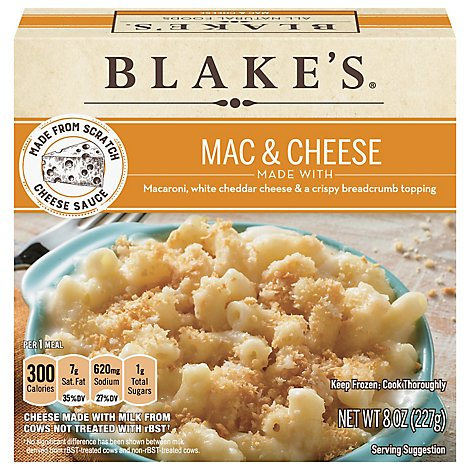 Blakes Old Fashioned Mac And Cheese - 8 OZ