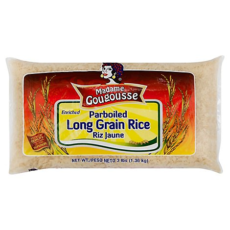 Mg - Parboiled Rice 10/3 Lb - 3 LB