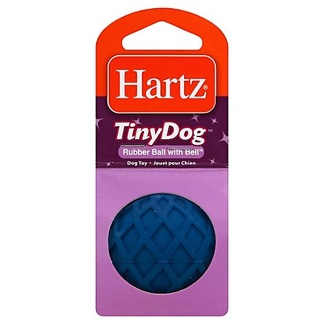 Hartz Md Rubber Ball With Bell - EA