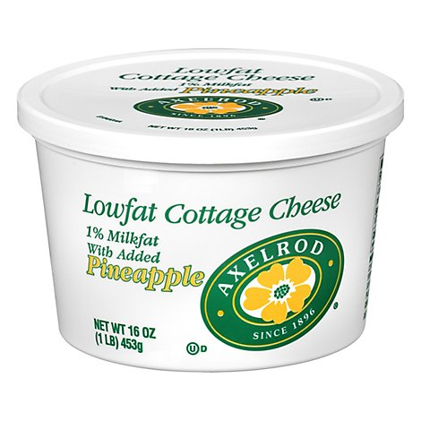 Axelrod Pineapple Lowfat Cottage Cheese - 16 OZ