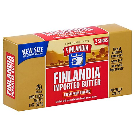 Finlandia Salted Butter Sticks - 8 OZ
