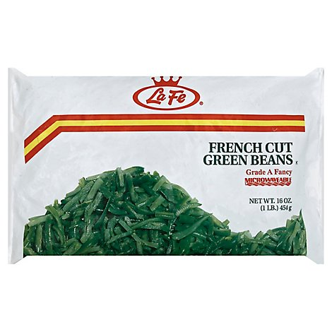 La Fe Vegetable Bean Frozen Green - 16 OZ