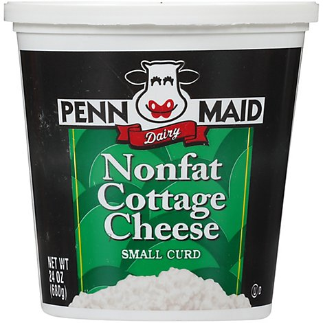 Penn Maid Small Curd Nonfat Cottage Cheese - 24 OZ