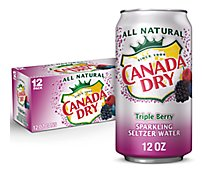 Canada Dry Triple Berry Soda - 12-12 FZ