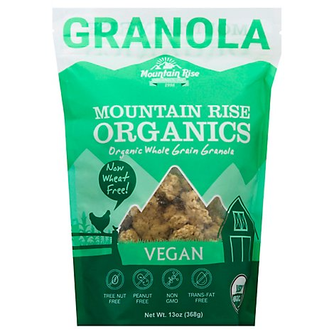 Mountain Rise Organic Granola Vegan - 13 OZ