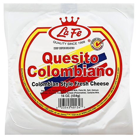 La Fe Quesito Colombiano - 16 OZ