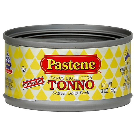 Pastene Tuna In Olive Oil - 3 OZ