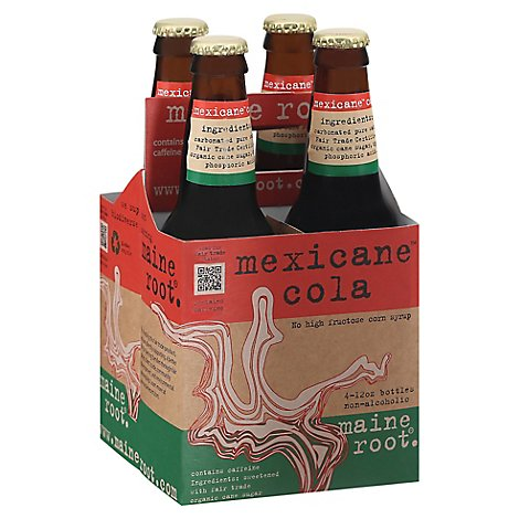 Maine Root Soda Mexicane Cola 4pk - 48 FO