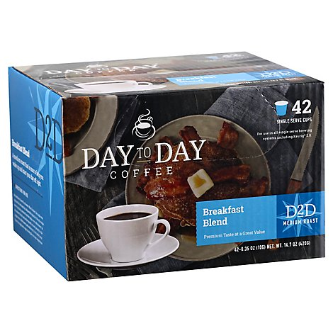 Day To Day French Roast Single Serve - EA