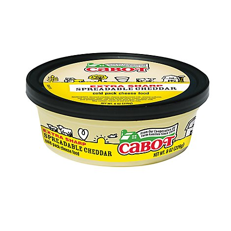 Cabot Extra Sharp Cheddar Cheese - 8 OZ