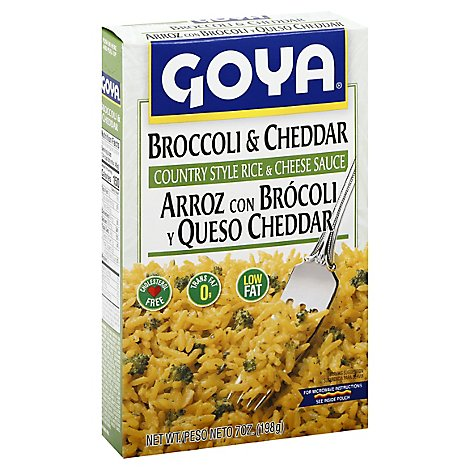 Goya Cheese Broccoli - 7 OZ
