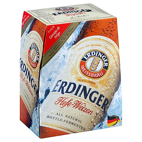Erdinger Weissbier In Bottles - 6-330 ML