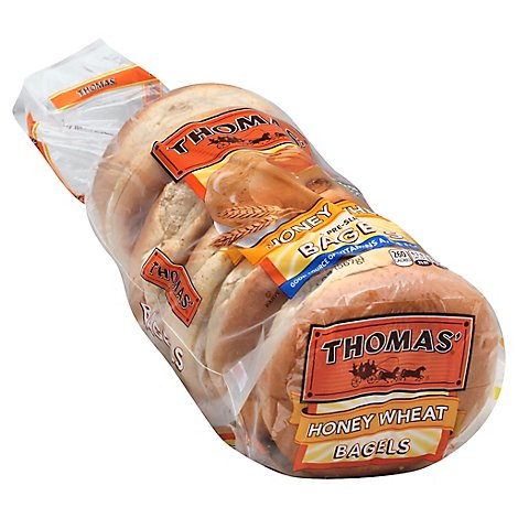 Thomas Honey Wheat Bagel - 20 OZ