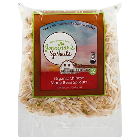 Jonathans Bean Sprouts Organic - 7 OZ