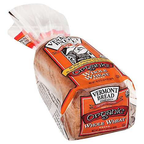 Vermont Organic Whole Wheat Bread - 20 OZ
