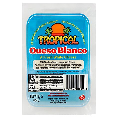 Tropical Queso Blanco - 16 Oz