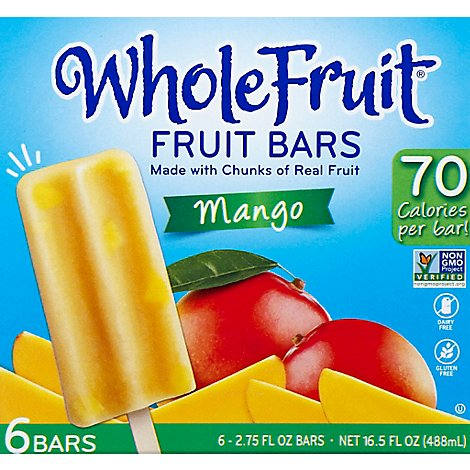 Frozen Fruit Bars/mango 12pk/6ct - 16.5 OZ