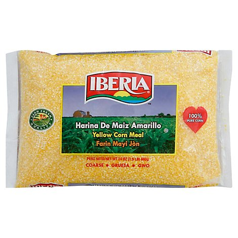 Iberia Coarse Yellow Cornmeal - 24 OZ