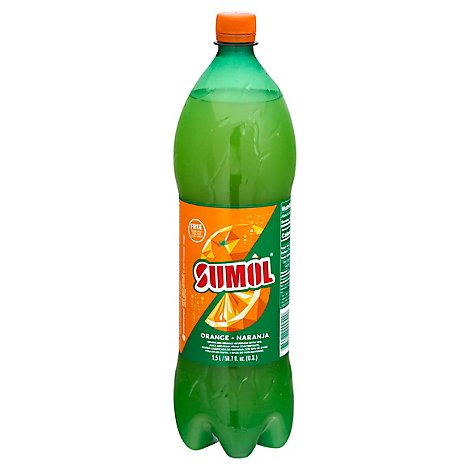 Sumol Soda Orange Plastic Bottle - 50.7 FZ
