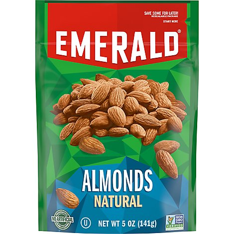 Emerald Natural Almonds - 5 OZ