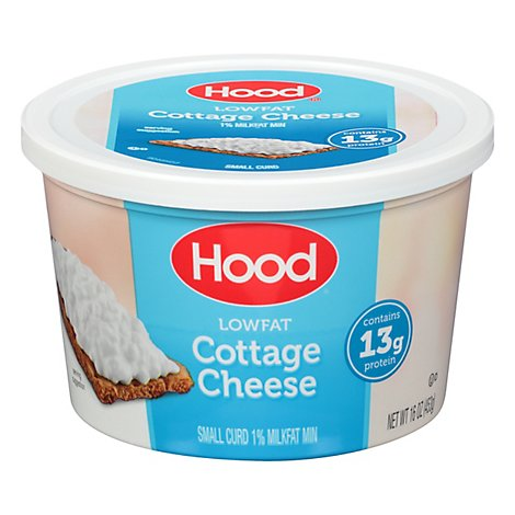 Hood Low Fat Cottage Cheese - 16 OZ