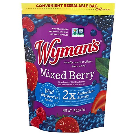 Wymans Mixed Berries - 15 OZ