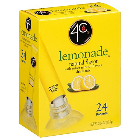 Four C Lemonade Nat Flvr - 3.6 OZ