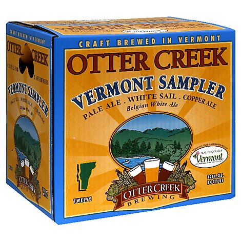 Otter Creek Vermont Sampler Bottles - 12-12 FZ