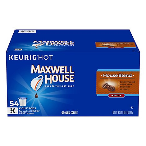 Maxwell House Coffee Pods House Blend - 54 CT