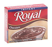 Royal Instnt Chocolt Pudding - 1.7 oZ