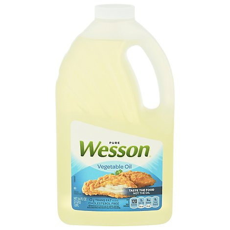 Wesson Vegetable Oil - 64 FZ