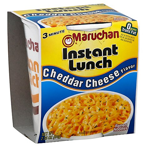 Mar Instant Lnch Chdr Cheese - 2.25 OZ