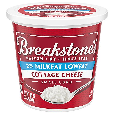 Breakstones Small Curd Low Fat Cottage Cheese - 24 OZ